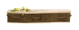 Jute Fibre Coffin