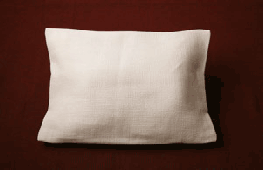 Pillow for coffin