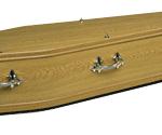 Oak foil coffin