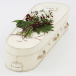 Recycled board coffin