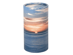 Small Urn Sunset ashes tube