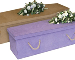 Newspaper coffins