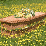 Woven coffin