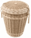 Woven seagrass & cane loom