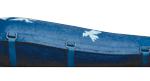 Blue ecopod coffin