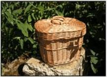 Woven willow urn - Fern