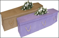 Biodegradable coffins