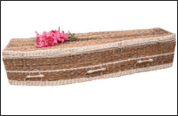 Woven coffins