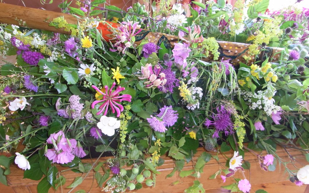 How much to spend on funeral flowers?